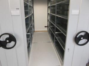 Archivio compattabile per ufficio contabilità